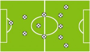Футбольная схема пирамида